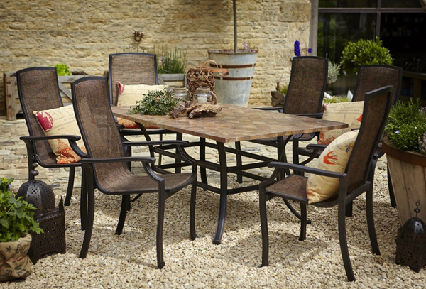 Garden furniture patio furniture and outdoor furniture for Low maintenance outdoor furniture